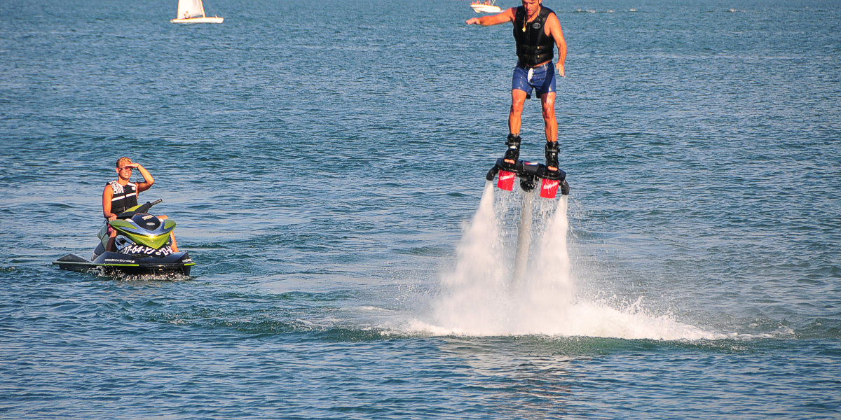 Flyboard Gravedona Comer see