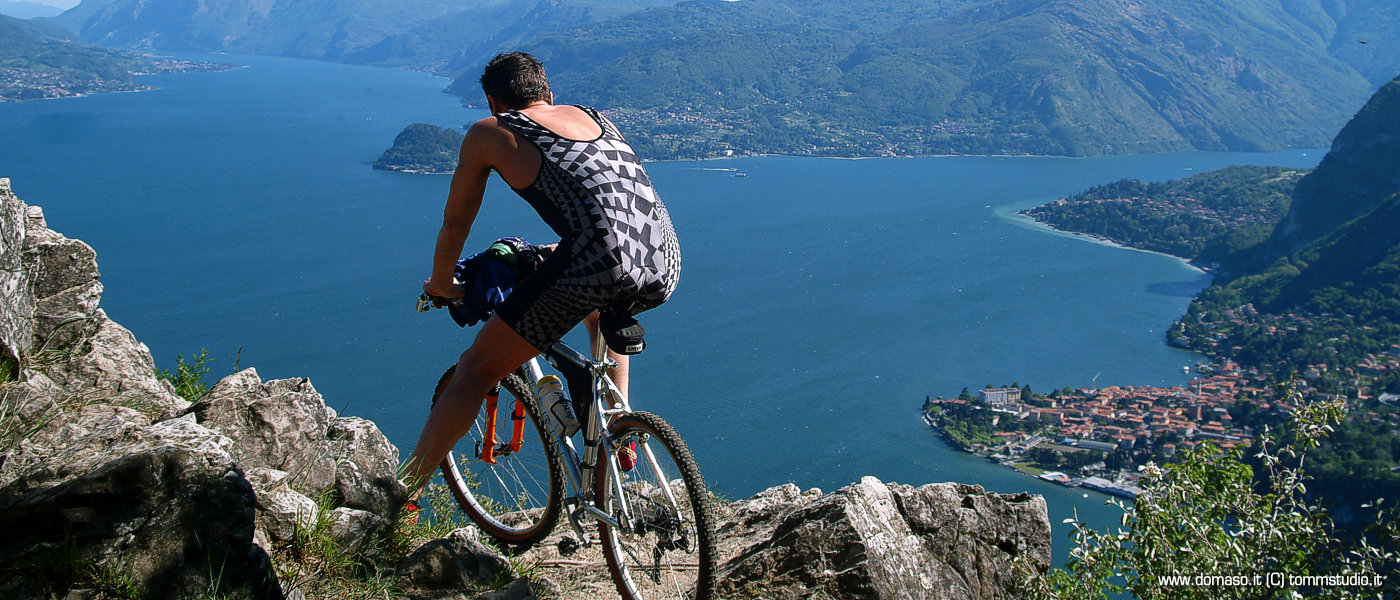 Mountain bike Gravedona Lago di Como